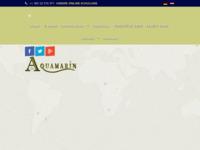 Frontpage screenshot for site: Aquamarin (http://www.aquamarin.hr)