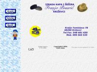 Slika naslovnice sjedišta: Kape i šeširi (http://krizevci.com/posaric)
