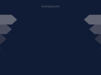 Frontpage screenshot for site: History of Komiza (http://www.komiza.com)