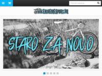 Slika naslovnice sjedišta: Extreme sport (http://www.extremesport.hr/)