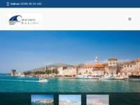 Frontpage screenshot for site: Inter-Nautik Bašić (http://www.inter-nautik.hr/)