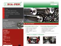 Slika naslovnice sjedišta: Dia-Pen d.o.o. (http://www.dia-pen.hr/)