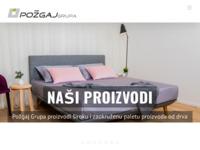 Slika naslovnice sjedišta: Požgaj d.o.o. - proizvodnja parketa (http://www.pozgaj.com)