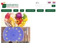 Slika naslovnice sjedišta: Hrvatska agencija za hranu, Osijek, Hrvatska (http://www.hah.hr/)