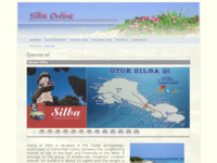 Frontpage screenshot for site: Silba (http://www.silba.org)