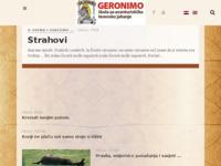 Slika naslovnice sjedišta: Konjički klub Geronimo (http://www.geronimo.hr/)