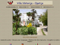 Frontpage screenshot for site: Villa Viktorija - apartmani (http://free-ri.htnet.hr/Vix/)