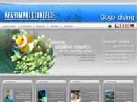 Frontpage screenshot for site: Gogo diving i apartmani Dionizije (http://www.inet.hr/~govlahov/)