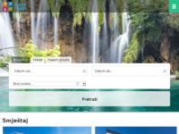 Frontpage screenshot for site: Farus turistička agencija (http://farus-travel.com/)