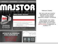Slika naslovnice sjedišta: Majstor (http://www.majstor.hr)