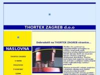 Frontpage screenshot for site: Thortex Hrvatska (http://www.thortex.hr)