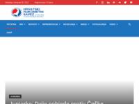 Slika naslovnice sjedišta: Hrvatski rukometni savez (http://www.hrs.hr)