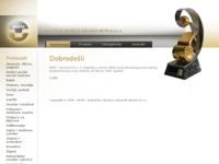 Frontpage screenshot for site: IKOM d.d. (http://www.ikom.hr)
