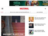 Slika naslovnice sjedišta: Nacional (http://www.nacional.hr)
