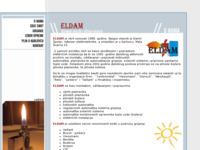 Slika naslovnice sjedišta: Eldam - očuvanje okoliša i ušteda energije (http://www.eldam.hr)