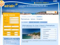 Slika naslovnice sjedišta: Premantura (http://www.kroatien-adrialin.de/ortsinfos/premantura/)
