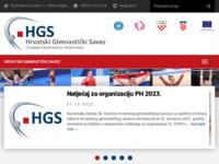 Slika naslovnice sjedišta: Hrvatski gimnastički savez (http://www.hgs.hr/)