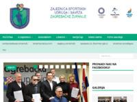 Slika naslovnice sjedišta: Sport Zagrebačke županije (http://www.sport-zagrebacke-zupanije.hr)
