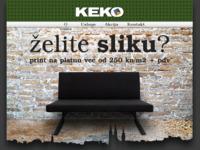Slika naslovnice sjedišta: Keko (http://www.keko.hr/)
