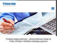 Frontpage screenshot for site: (http://www.tritem.hr/)