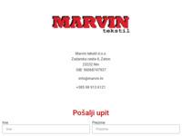Slika naslovnice sjedišta: Krojački obrt Marvin, Zaton, Zadar (http://www.marvin.hr/)