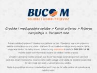 Slika naslovnice sjedišta: Buco-M d.o.o. za prijevoz i  selidbe (http://www.buco-m.hr)