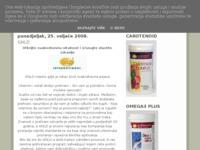 Slika naslovnice sjedišta: Živite zdravije, osjećajte se bolje (http://alastoria.blogspot.com)