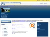 Slika naslovnice sjedišta: Elaktrosanitarij-Đenđo (http://www.elektrosanitarij.hr)