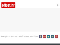 Slika naslovnice sjedišta: Offset NP GTO tisak (http://www.offset.hr/)