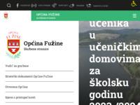 Slika naslovnice sjedišta: Općina Fužine - najveća mala općina (http://www.fuzine.hr)