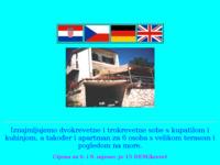 Frontpage screenshot for site: Ljetovanje u Istri (http://free-bj.htnet.hr/grunf/istra)