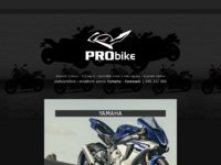 Frontpage screenshot for site: Pro bike d.o.o. (http://www.pro-bike.hr/)