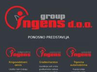 Slika naslovnice sjedišta: Automobili INGENS (http://www.ingens.biz)