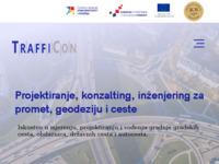 Slika naslovnice sjedišta: Trafficon d.o.o. (http://www.trafficon.hr/)