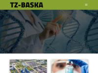 Frontpage screenshot for site: Turistička zajednica Baška, Otok Krk (http://www.tz-baska.hr/)