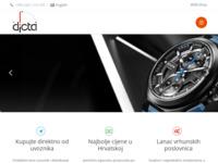 Slika naslovnice sjedišta: Dicta d.o.o. (http://www.dicta.hr)