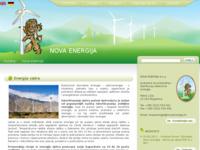 Frontpage screenshot for site: Nova energija - energija vjetra (http://novaenergija.hr/)