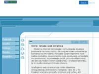 Slika naslovnice sjedišta: Profesionalna izrada internet stranica (http://www.vidic.5u.com)