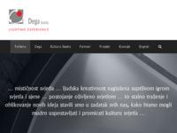 Slika naslovnice sjedišta: Dega d.o.o. (http://www.dega.hr/)