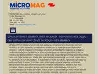 Slika naslovnice sjedišta: Micro Mag d.o.o. (http://www.micromag.net)