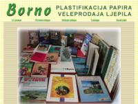 Slika naslovnice sjedišta: Borno d.o.o. (http://www.borno.hr/)