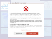 Frontpage screenshot for site: Sudski tumač blog (http://sudskitumac.blog.hr/)