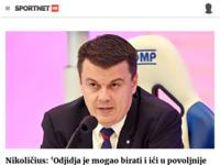 Slika naslovnice sjedišta: Sport Net (http://www.sportnet.hr)