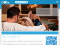 Frontpage screenshot for site: DSK trgovina d.o.o. (http://www.dsk.hr/)