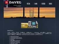 Frontpage screenshot for site: Davel d.o.o. (http://www.davel.hr)