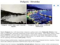 Frontpage screenshot for site: Podgora Makarska Rivijera (http://free-st.htnet.hr/Podgora/)