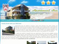 Slika naslovnice sjedišta: Apartmani San, Sukošan, Zadar (http://www.apartmani-san.com/)