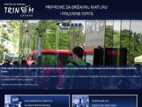 Slika naslovnice sjedišta: Trinom - pripreme za državnu maturu i prijemne ispite (http://www.trinom.hr/)