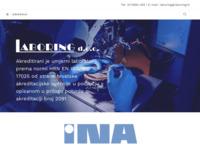 Slika naslovnice sjedišta: Laboratorij za umjeravanje i ispitivanje Laboring (http://www.laboring.hr)