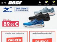 Slika naslovnice sjedišta: Rost šport (http://www.rost-sport.hr/)